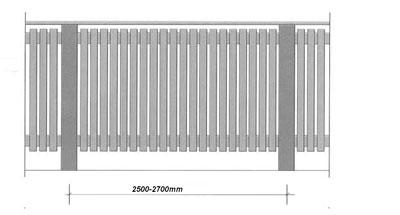 1bba8db9b8c Puitaia ehitus- aialippide kuju, värvitooni ja paiknemisega saab luua  sobiva piirdeaia